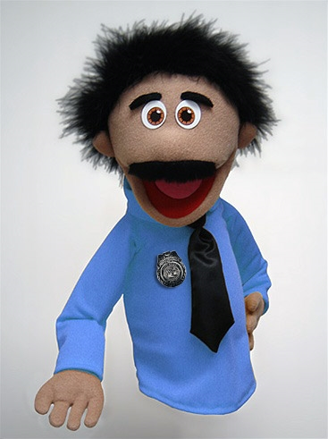 Officer Al Nuzzle Puppet Nuzzles Are Cartoon Puppets