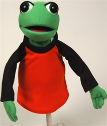 professional frog puppet