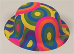 12 Black Light Derby Hats
