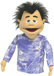 "Buy our ""Vinnie"" puppet, he's cute, well constructed and 18"" tall!"
