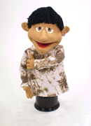 Beamer is professional puppet designed for church puppet ministry.