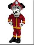 Spots, the fire dog puppet