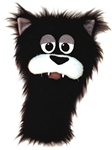 Tugg, the cat puppet