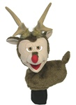 Rudy the Reindeer puppet