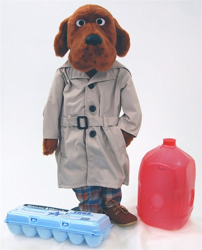 mcgruff the crime dog animal puppet for puppeteers or ventriloquists