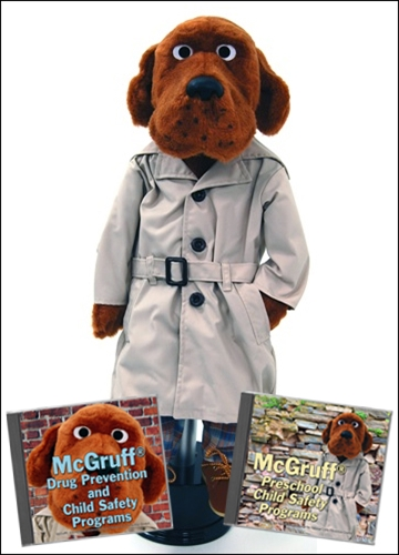 mcgruff puppet with cd
