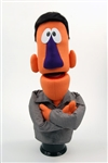"24"" Tall orange professional puppet."