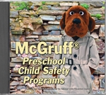 CD, McGruff® Preschool Child Safety Programs
